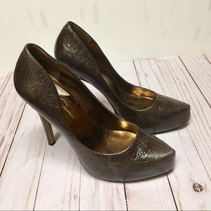 👑 Jessica Simpson Hidden Platform Heels, Size 9.5